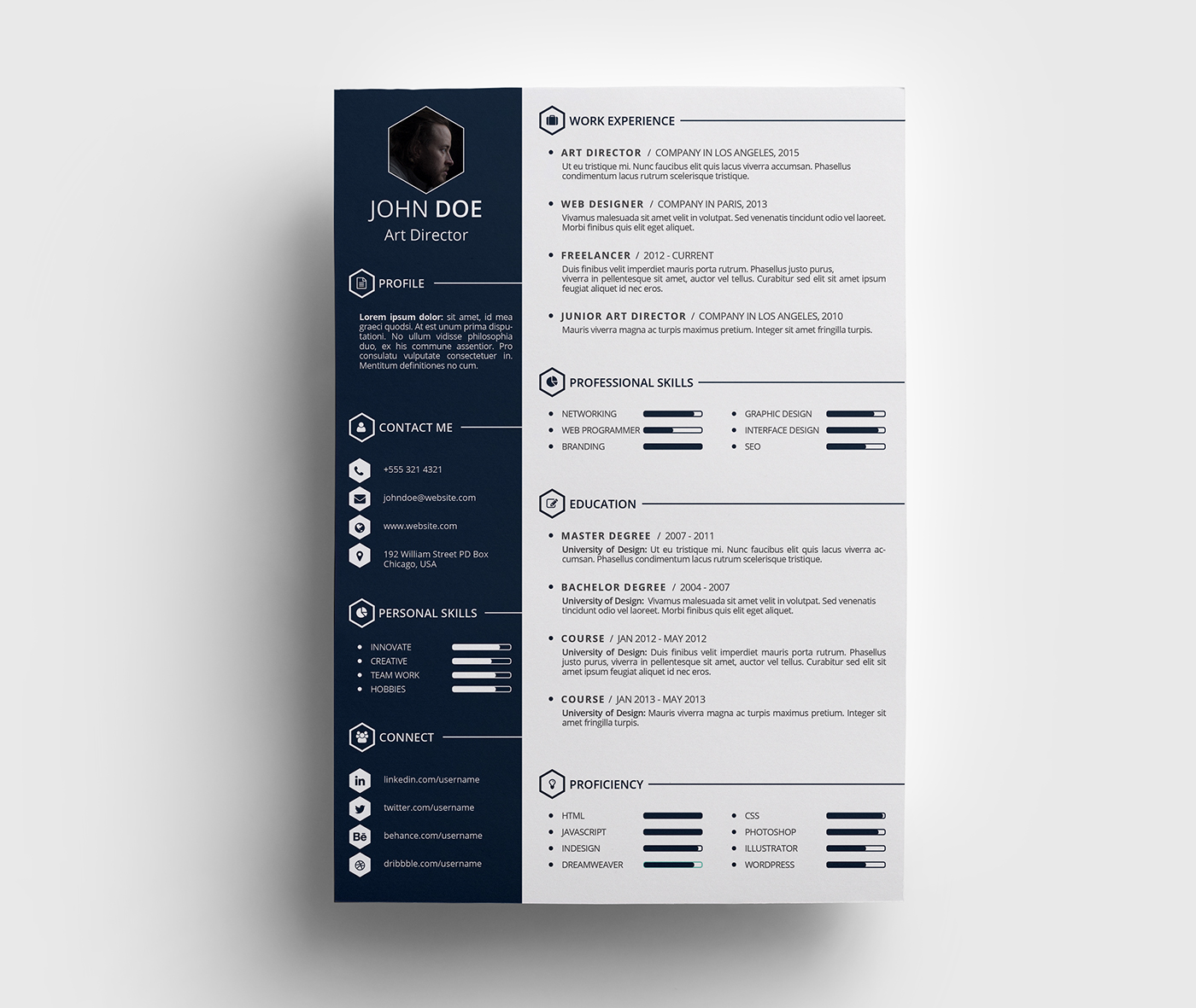 can resumes be front and back accounting supervisor resume
